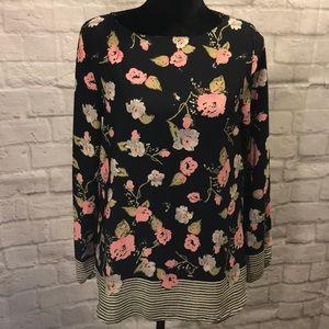 Stitch Fix Le Lis floral blouse